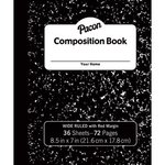 COMPOSITION BOOK 72 PAGES WIDE RULE