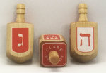 DREIDEL CLARK UNIV RED & WHITE