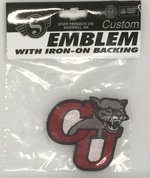 PATCH 2.25 INCH IRON ON/SEW ON CU COUGAR