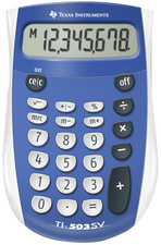 CALCULATOR TI 503-SV POCKET