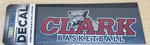 DECAL OUTSIDE CLARK COUGAR BASKETBALL