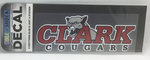DECAL OUTSIDE CLARK COUGARS