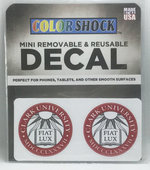 DECAL MINI REMOVABLE SEAL