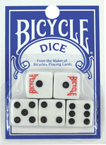 BICYCLE DICE 5 DIES