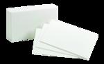 INDEX CARDS 3 X 5 BLANK