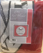 "BLANKET KNIT 63"" x 53"" SEAL"