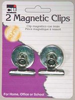 MAGNETIC CLIPS 2 COUNT