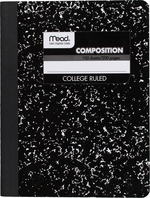 COMPOSITION BOOK 100 SHEETS COLLEGE RULES