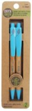 PENCIL 2PK MECHANICAL PENCILS HB .5MM BAMBOO/RECYCLED PLASTIC