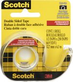 "TAPE DOUBLE SIDED TAPE 1/2"" X 6.9 YD"