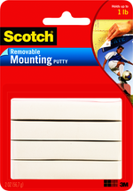 MOUNTING PUTTY REMOVEABLE