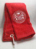 TOWEL GOLF VELOUR TRIFOLD SEAL