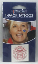 """TATTOOS TEMPORARY 1.5"""" X 1.5"""" 4 PACK SEAL"""