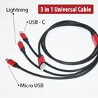 CABLE 3 IN 1 UNIVERSAL CHARGING