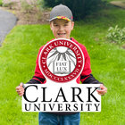 LAWN SIGN SEAL CLARK UNIVERSITY