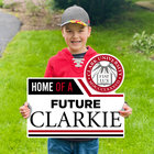 LAWN SIGN HOME OF A SEAL FUTURE CLARKIE