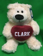 """BEAR SOPHIE 12"""" CREAM WITH HEART"""