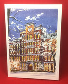 NOTE CARD JONAS CLARK HALL WINTER PORTRAIT