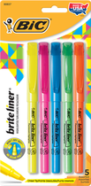 HIGHLIGHTER BRITE LINER 5 PACK ASSORTED COLORS