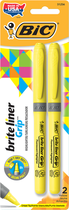 HILIGHTER BRITE LINER 2 PACK YELLOW