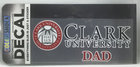 DECAL OUTSIDE SEAL CLARK UNIV DAD