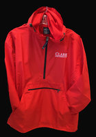 JACKET 1/4 ZIP PACK-N-GO CLARK UNIV