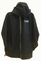 JACKET FULL-ZIP PACK-N-GO CLARK UNIV