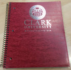NOTEBOOK 3 SUBJECT SEAL CLARK UNIV WORC MA ASST COLORS