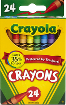 CRAYONS 25 PACK