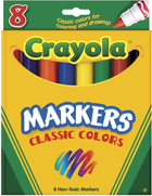 MARKER 8 PACK ASSORTED COLORS