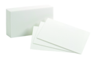 INDEX CARDS 3 X 5 BLANK