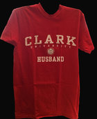 T-SHIRT UNIVERSITEE CLARK UNIV HUSBAND
