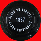 "9"" FLYING DISC CLARK UNIV 1887"