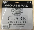 MOUSE PAD COLORMAX CLARK UNIV WITH TAG LINE