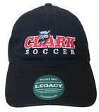 CAP RELAXED TWILL CLARK COUGAR SOCCER