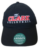 CAP RELAXED TWILL CLARK COUGAR VOLLEYBALL