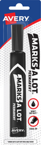 MARKER MARKS-A-LOT PERMANENT BLACK