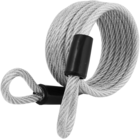LOCK 6' BRAIDED STEEL LOOPED END CABLE
