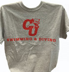 T-SHIRT CU SWIMMING & DIVING