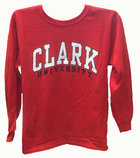 T-SHIRT LONG SLEEVE BOLD ARCH CLARK UNIV