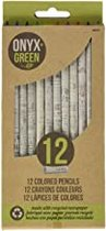 PENICL 12 PK COLORED PENCILS SHARPENED RECYCLED PAPER