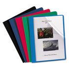 REPORT COVER CLEAR FRONT ASSORTED COLORS