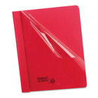 REPORT COVER CLEAR FRONT RED