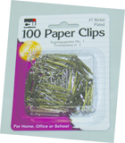 PAPER CLIPS METAL100 COUNT