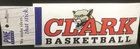 DECAL CLARK BASKETBALL