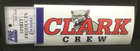 DECAL CLARK CREW