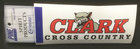DECAL CLARK CROSS COUNTRY