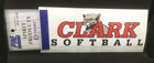 DECAL CLARK SOFTBALL