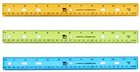 RULER 12 INCHES ASSORTED COLORS
