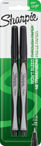 MARKER SHARPIE PEN 2 PACK BLACK